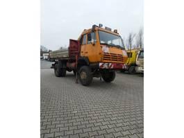 kipper vrachtwagen > 7.5 t Steyr 19S270/ 4X4 Kran Palfinger PK8000 1994
