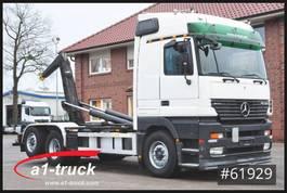 containersysteem vrachtwagen Mercedes-Benz Actros 2553, V8, Lenkachse, Meiler RK20.65 2001