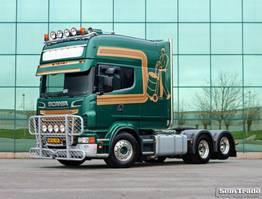 standaard trekker Scania R730 V8 6X2 LONGLINE XXL - PTO HYDRAULICS 2011