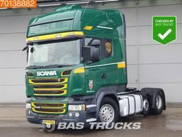 standaard trekker Scania R450 6X2 Retarder Standklima Liftachse 2xTanks Xenon 2014