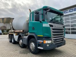 betonmixer vrachtwagen Scania G410 8x4 Euro 6 Betonmischer Intermix 9m3 2014