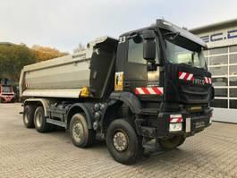 kipper vrachtwagen > 7.5 t Iveco AD410TW TRAKKER 450 8x8 Euro 6 Muldenkipper 2017