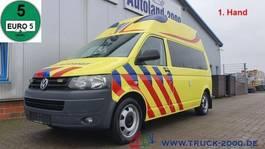 ambulance bedrijfswagen Volkswagen T5 2.0 TDI Ambulance Mobile RTW Scheckheft 1.Hd 2010