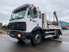 containersysteem vrachtwagen Mercedes-Benz 1820 MANUAL FULL STEEL SPRING BIG AXLE 1997