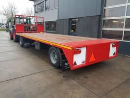 platte aanhanger vrachtwagen agpro 2 as