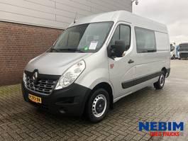 gesloten bestelwagen Renault Master 145 Dci L2H2 DC - DUBBEL CABINE 2019