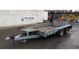 open laadbak aanhangwagen Ifor Williams trailers GX126 2008