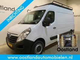 gesloten bestelwagen Opel Movano 2.3 CDTI L2H2 136 PK Servicewagen / Inrichting / Airco / 3-Zits 2015