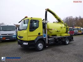 kolkenzuiger vrachtwagen Renault Midlum 180 .14 dxi 4x2 RHD Euro 5 vacuum tank 6.1 m3 2012
