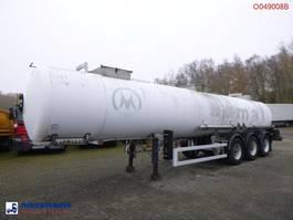 tankoplegger Magyar Chemical tank inox 22.5 m3 / 1 comp 2000