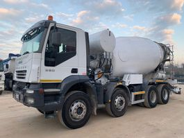 betonmixer vrachtwagen Iveco Trakker 410T38 8x4 CIFA 13mc 2006