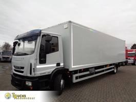 bakwagen vrachtwagen Iveco EuroCargo 120 120E25 + Euro 5 + Dhollandia 2011