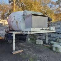 betonmixer oplegger Netam-Fruehauf mixer OCCR 30-218 1989