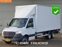 gesloten bestelwagen Mercedes-Benz Sprinter 516 CDI BE Combi 3500PLUS Clixtar Trekker Oplegger A/C Cruise control 2021