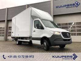 gesloten bestelwagen Mercedes-Benz Sprinter 514 CDI / NEW !! / Box / Laadklep 750 kg 2020