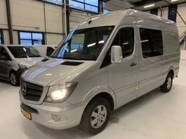 gesloten bestelwagen Mercedes-Benz SPRINTER L2H2 316 Dubbcab Automaat Navi 2015