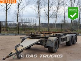 container chassis aanhanger Burg BPA 09-18 ACXXX-00 3 axles Liftachse 2008