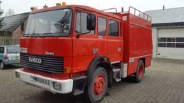 brandweerwagen vrachtwagen Iveco Turbostar 165 - 240pk. 1986