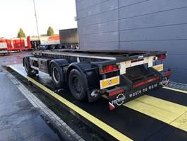 container chassis aanhanger GS Meppel Geschikt voor landbouw/ langzaam vervoer