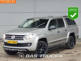 suv wagen Volkswagen Amarok 4x4 Darklabel Leder Navi Camera 2014