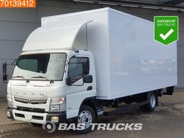 bakwagen vrachtwagen Mitsubishi Canter Fuso 7C18 4X2 Manual Ladebordwand Euro 6 2017