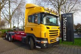 containersysteem vrachtwagen Scania G4010 Highline 6x2*4 Hooklift 2012