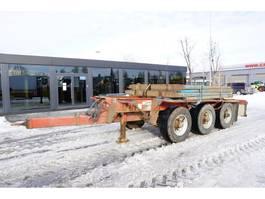 houttransport aanhanger Dennison TRIDEM , 3 axles , auto wheels pumping , 8 stachions 2011