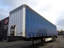 huifzeil oplegger Krone Oplegger germain trailer 2007