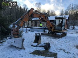 rupsgraafmachine Caterpillar 307B 2001