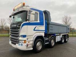 kipper vrachtwagen > 7.5 t Scania R580 EURO 6 FULL STEEL 8x4 2015