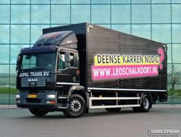 bakwagen vrachtwagen MAN TGM 18.240 4X2 BL EURO 4 2000 KG TAIL LIFT HOLLAND TRUCK 2007