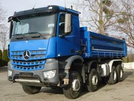 kipper vrachtwagen > 7.5 t Mercedes-Benz AROCS 4145 8x6 EURO6 Dreiseitenkipper TOP! 2016