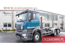containersysteem vrachtwagen Mercedes-Benz Arocs 2532 , E6 ,120.000km , 6x2 , steer / lift axle , retarder 2015