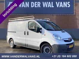 gesloten bestelwagen Opel Vivaro 2.0CDTI L1H1 *inrichting* Airco, imperiaal, trekhaak, cruise, nav... 2014