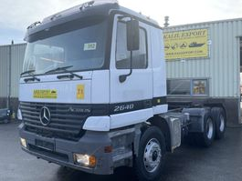 standaard trekker Mercedes-Benz 2640 Actros 6x4 Tractor Full Spring V6 EPS Good Condition 1999