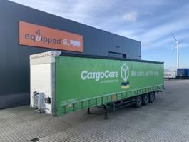 schuifzeil oplegger Schmitz Cargobull Scheibebremsen, Rungtasschen, galvanisiert, Code-XL, Huckepack, 7x vorhanden 2016