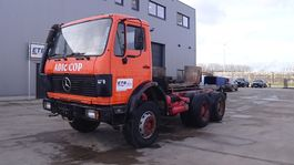 chassis cabine vrachtwagen Mercedes-Benz SK 2225 (BIG AXLE / STEEL SUSPENSION / V8- engine) 1989
