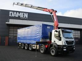 kraanwagen Iveco Trakker 410T50-5 10x4 Euro 6 2018