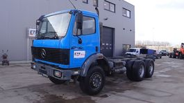 chassis cabine vrachtwagen Mercedes-Benz SK 2435 (BIG AXLE / STEEL SUSPENSION / V8-engine) 1992