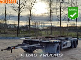 container chassis aanhanger Burg BPA-10-18 ACXXX 3 axles 2001