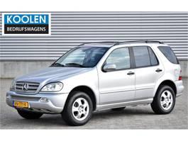 suv wagen Mercedes-Benz M-Klasse 270 CDI Special Edition ML (bellen voor bezichtiging) 2001
