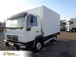 bakwagen vrachtwagen MAN LE 8.140 + MANUAL 2001