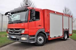 brandweerwagen vrachtwagen Mercedes-Benz ATEGO 2013