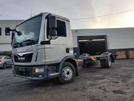 chassis cabine vrachtwagen MAN TGL 12.250 Chassis cabine Euro6 2014