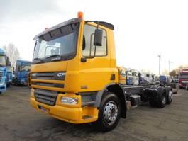 chassis cabine vrachtwagen DAF CF 75.250 6X2 2004
