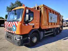 vuilkar camion Renault P 320 Dxi 6X2 + FAUN Wastecollector / Müllwagen / Benne Ordures 2008
