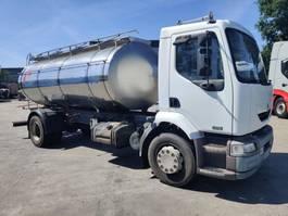 tankwagen vrachtwagen Renault 270 Dci - 11000 L INOX TANK Foodstuff / Lebensmittel / Alimentaire 2004
