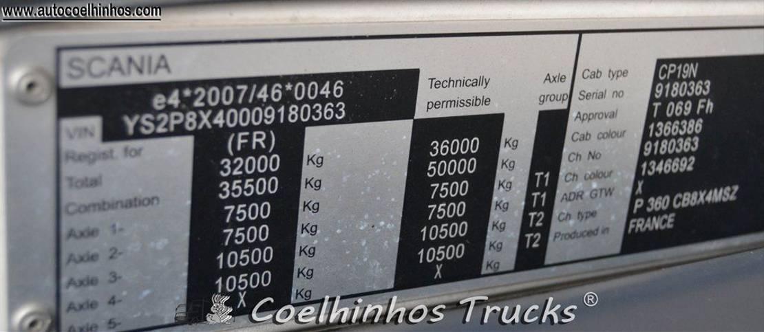 silo vrachtwagen Scania P 360