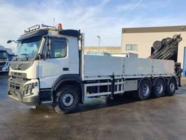 open laadbak vrachtwagen Volvo FMX 420 Tridem 8X4 + HIAB 288 E7 HiPro 2016