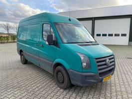 gesloten bestelwagen Volkswagen CRAFTER 35 BESTEL L2 H2 109 PK EURO5 2011